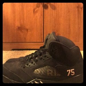 Nike Jordan Retro 5 PSGs. Size 9.5